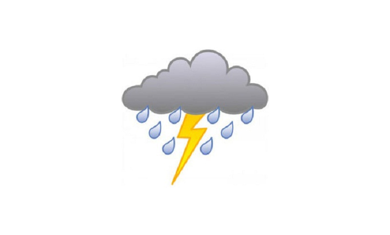 Rain, thundershower likely