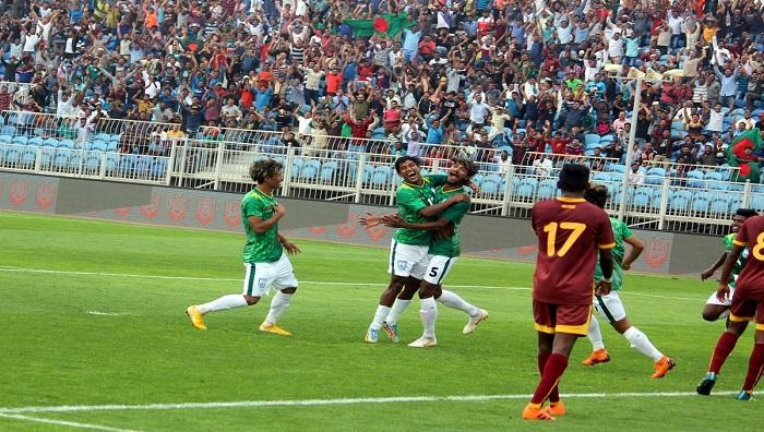 Bangladesh taste maiden victory in AFC U-23 Championship Qualifiers