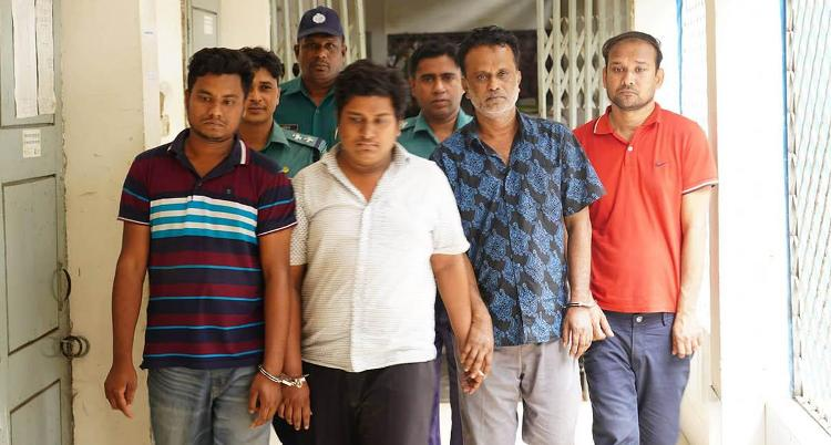 Four fraud gang members arrested from Tejgaon