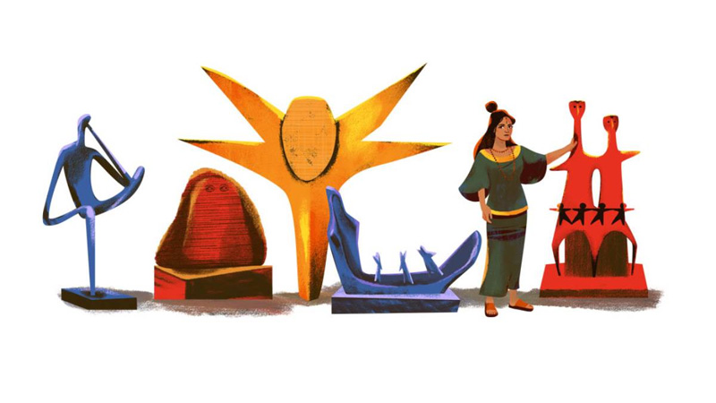 Google doodle celebrates Novera Ahmed's birthday