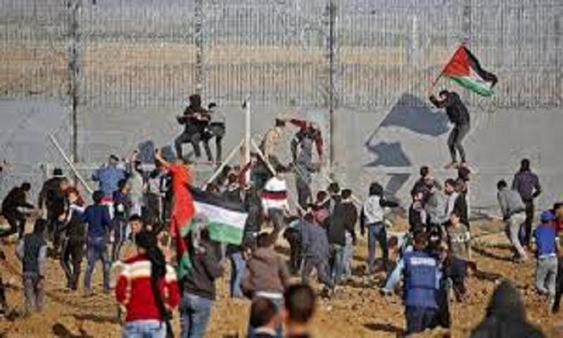 Gaza officials say Palestinian man killed by Israeli troops