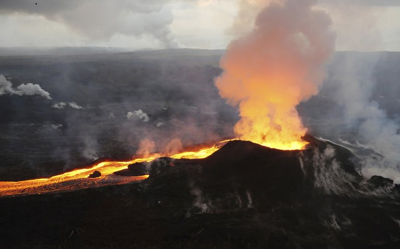 Scientists lower alert level for Hawaii's Kilauea volcano