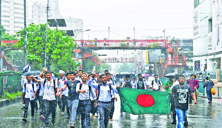 Irony of student protests for safe roads