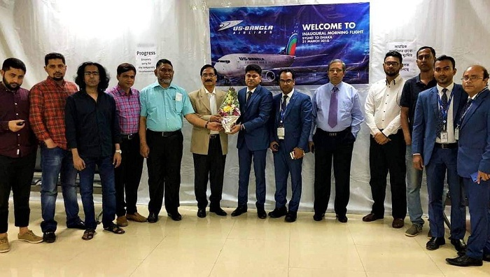 US-Bangla Airlines launches Dhaka to Chennai flights