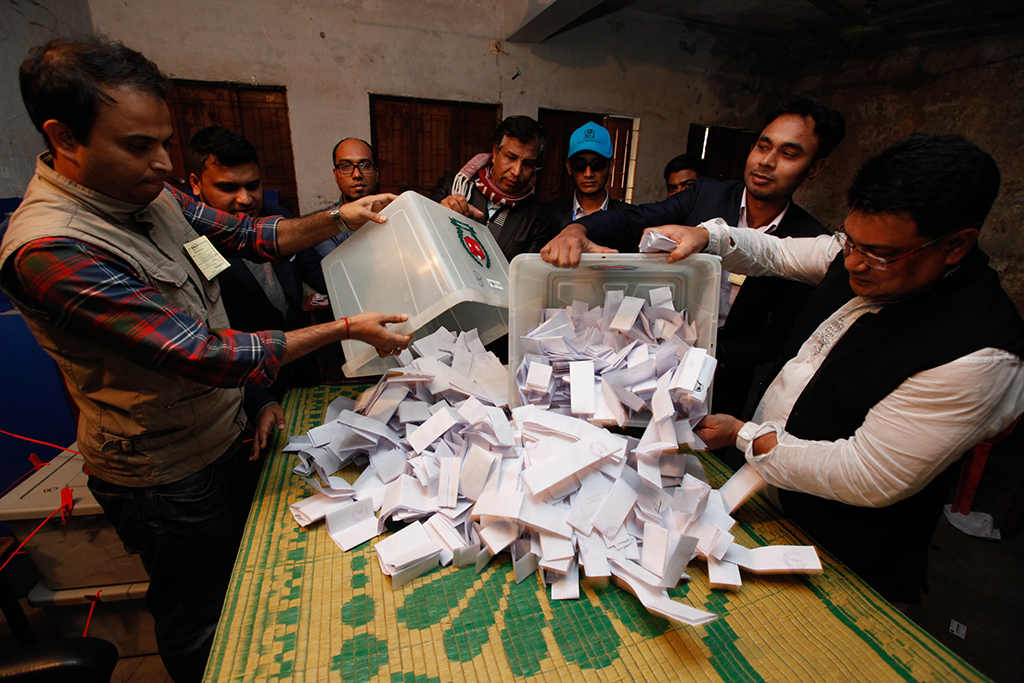 4th phase polls: Voting ends, counting underway