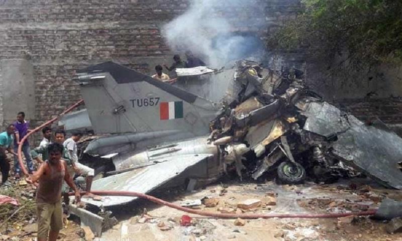 IAF's MiG 27 aircraft crashes near Jodhpur