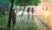 Sudden hailstorm hits the capital