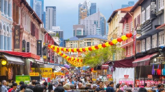 Safest city in the World: Singapore