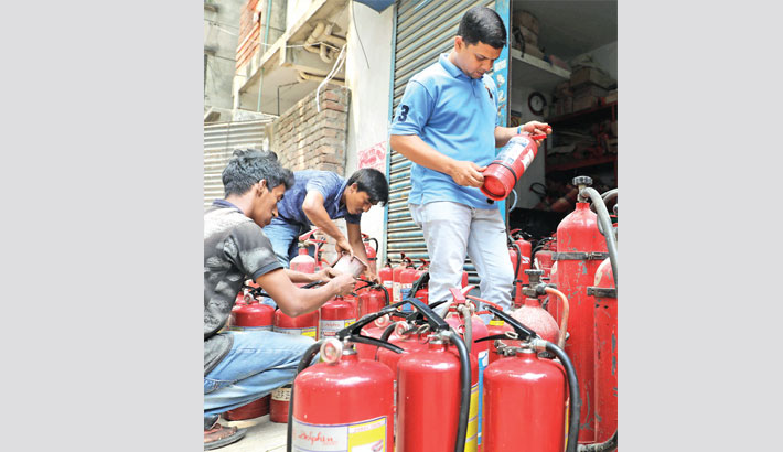 Sale of fire safety kits shoots up
