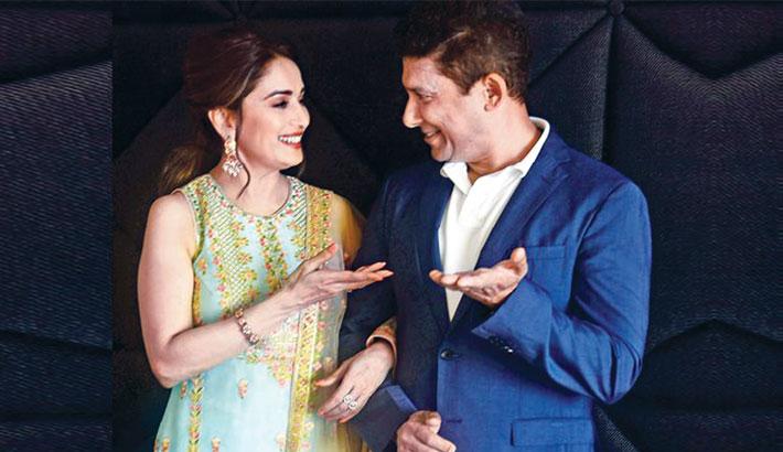 Madhuri on co-producing film with husband Shriram Nene