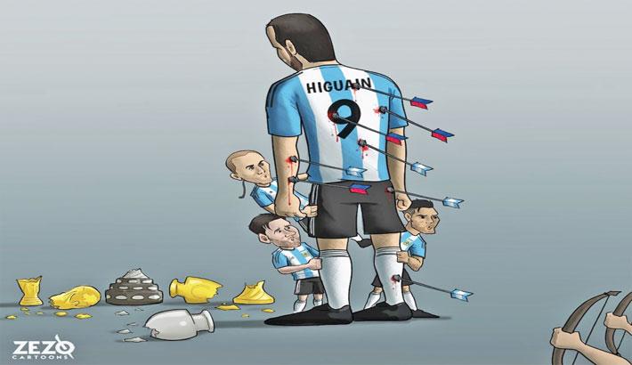 Higuaín Retires from International Duty