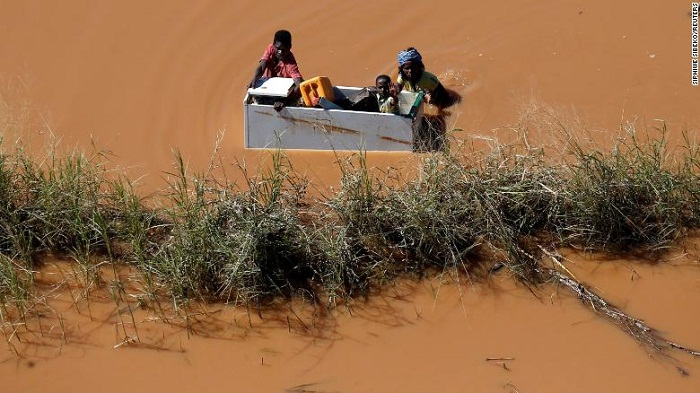'Tragic showcase' of how climate change could affect world's poorest