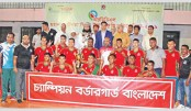 BGB, Bangladesh Ansar win wrestling titles