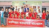BGB, Bangladesh Ansar win wrestling titles