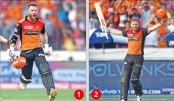 Bairstow, Warner hit tons as Sunrisers demolish RCB