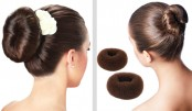 Styling Your Hair With A Donut Bun