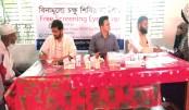 Free eye camp and free medicine distribution