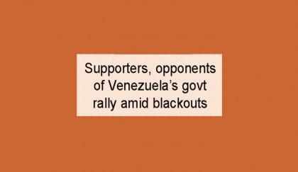 Stop interfering in Venezuela