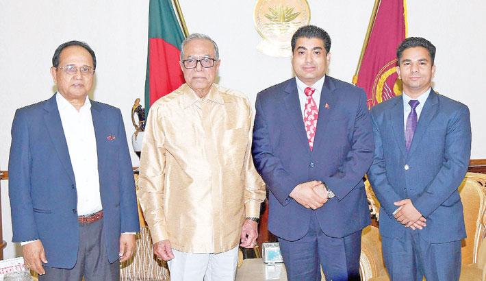 Chairman of Universal Peace Federation (UPF-Asia Pacific) Ek Nath Dhakal