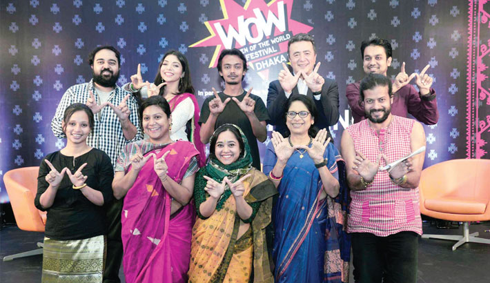 WOW Dhaka fest on April 5