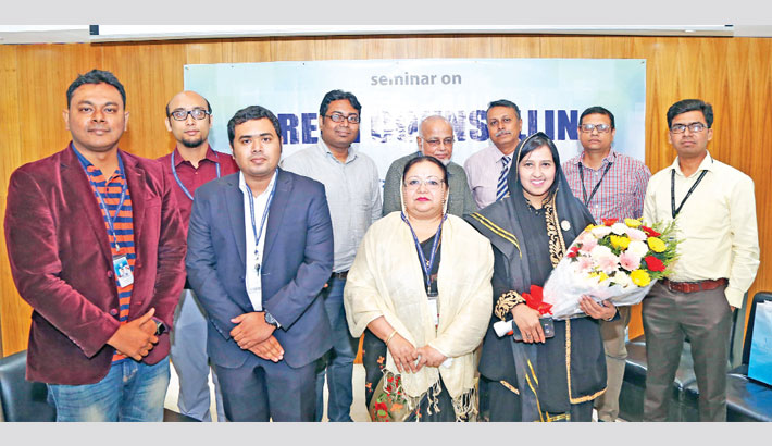Seminar on career counselling held at AIUB