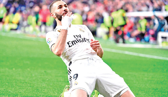 Benzema's late stunner lifts Real Madrid
