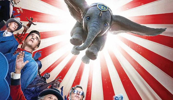 Dumbo soars, sort of, to top N American ticket sales
