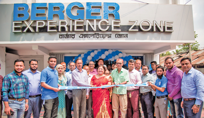 Berger paints opens Experience Zone in Ctg