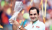 Federer sweeps 101st title in Miami final