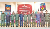 officers of Malaysian Armed Forces Staff College