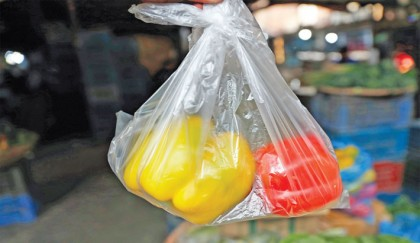 Use of banned poly bags still rampant