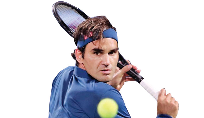 Federer goes fourth in rankings