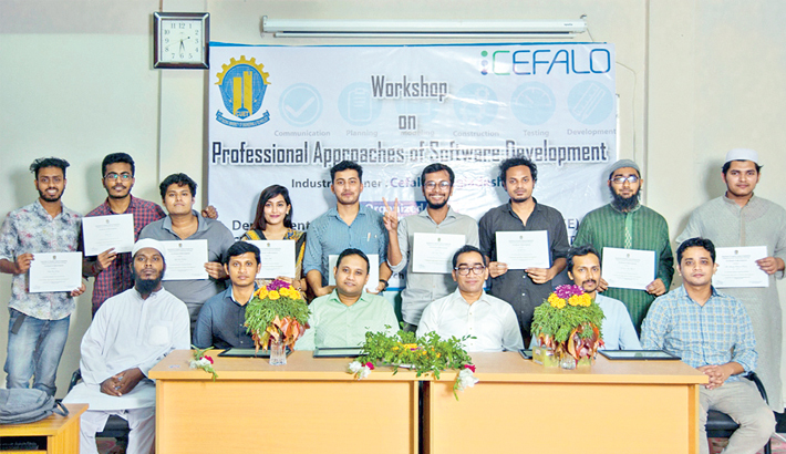 Workshop on software dev held at CUET