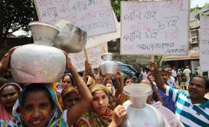 Water crisis sparks protest in Jatrabari