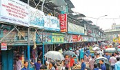 Bangabazar Complex in the capital has recently been declared very risky by the Fire Service and Civil Defence