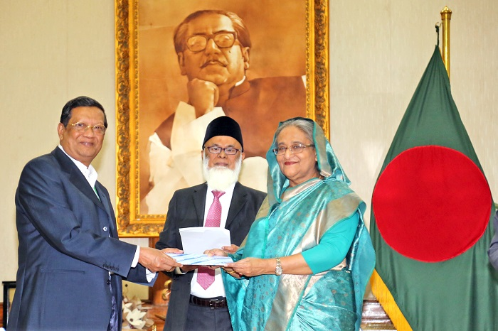 Shahjalal Islami Bank Donated Tk. 1 Crore to Prime Minister's Relief and Welfare Fund