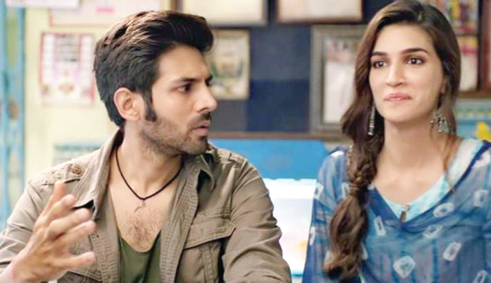 Kriti upset over Aaryan getting all the credit for Luka Chuppi