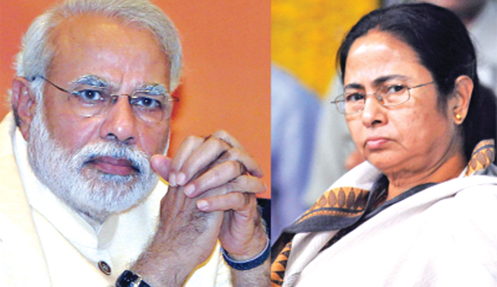 Modi-Mamata row soars ahead of LS polls