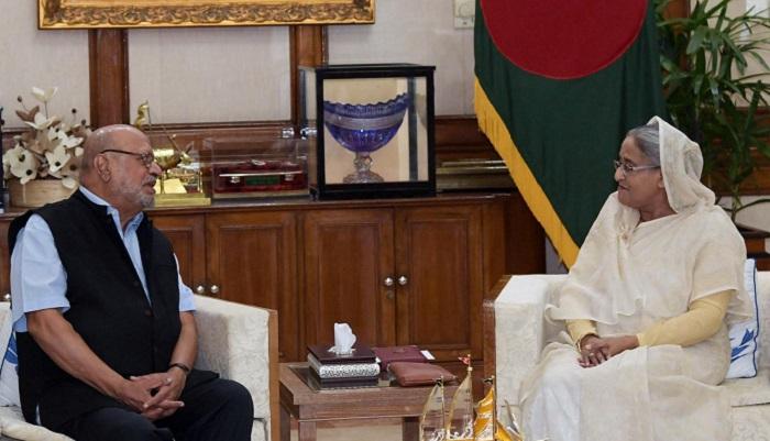 Celebrated Indian filmmaker Shyam Benegal meets PM