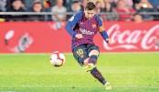 Messi rescues draw for Barca at Villarreal