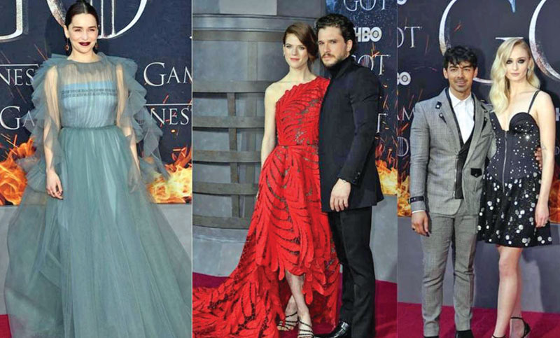 Entire cast walked red carpet for Game of Thrones 8 premiere