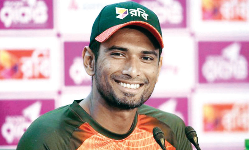 Mahmudullah hopes to recover before WC