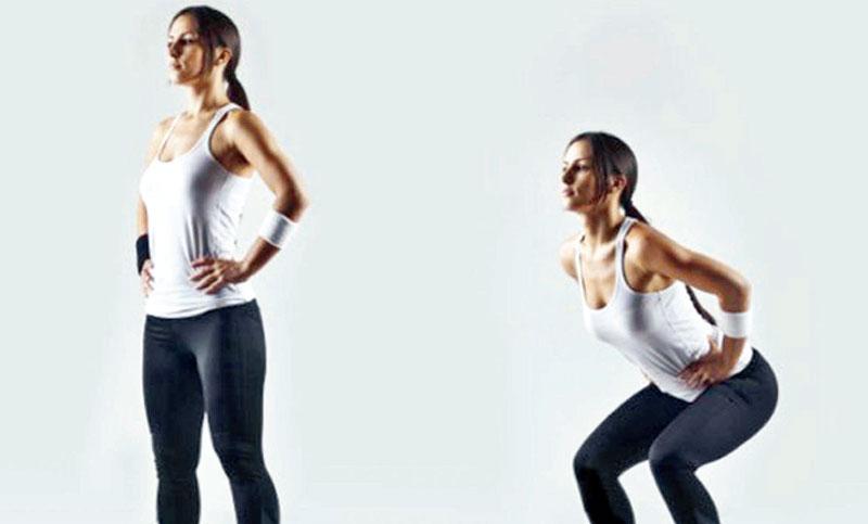Three Leg Toning Exercises