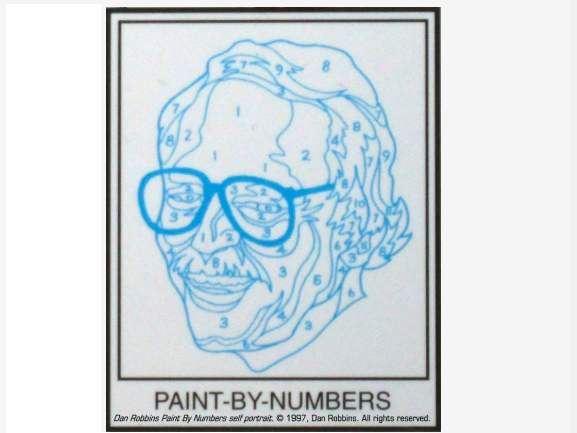 Artist who created first paint-by-numbers pictures dies