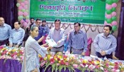 Distributes stipends among talented students