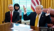US-China trade talks going 'very well': Trump