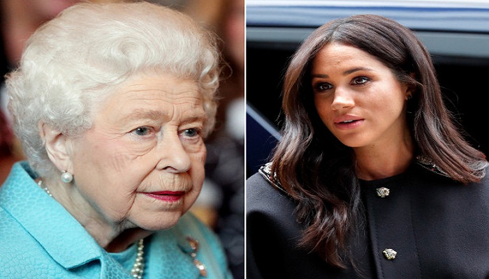 The Queen bans Meghan Markle from wearing crown jewels