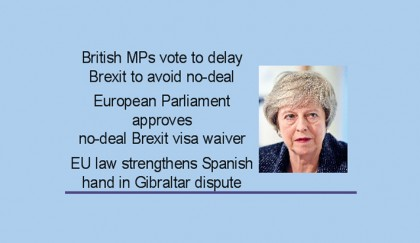 May scrambles to avoid chaotic Brexit finale