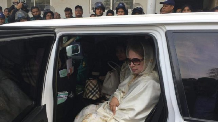 BNP to stage hunger strike Sunday seeking Khaleda's release