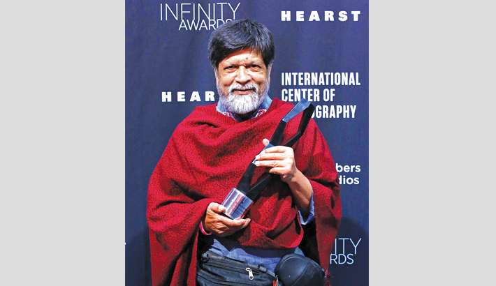 Shahidul Alam receives Infinity Award